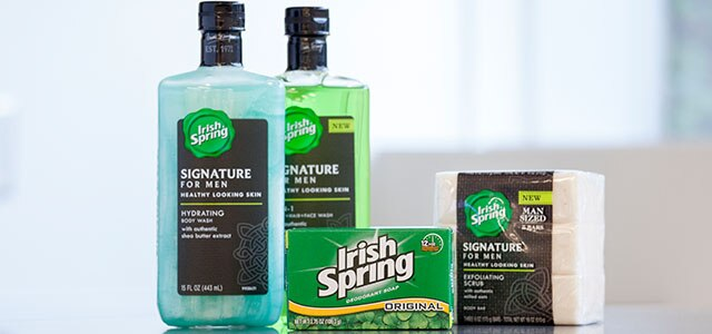 Irish Spring Signature Soaps for Men